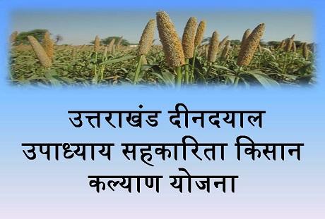 Uttarakhand Deendayal Upadhyay Kisan Kalyan Yojana