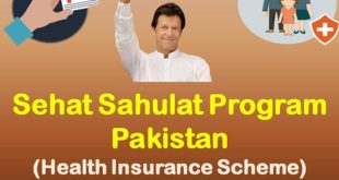 Sehat Sahulat Program Pakistan