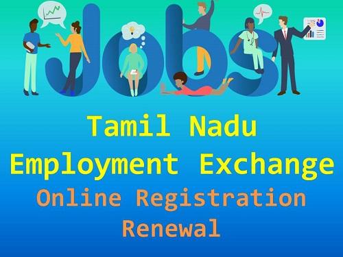 Tamil Nadu Employment Exchange registration