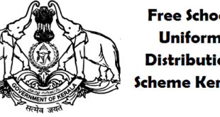 Kerala's free school uniform distribution scheme
