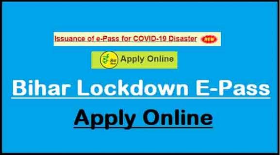 bihar e pass online apply